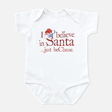 I Believe In Santa Infant Bodysuit