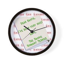 Dandie Nice Wall Clock