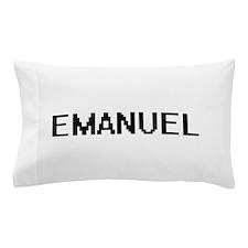 Emanuel Digital Name Design Pillow Case