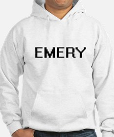 Emery Digital Name Design Hoodie