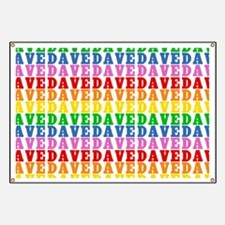 Rainbow Name Pattern Banner