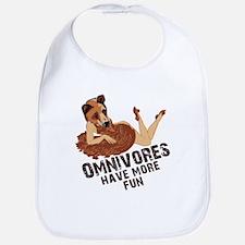 Omnivores Have More Fun Bib
