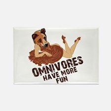 Omnivores Have More Fun Rectangle Magnet