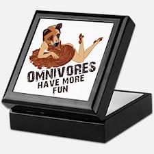 Omnivores Have More Fun Keepsake Box