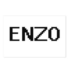 Enzo Digital Name Design Postcards (Package of 8)