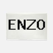 Enzo Digital Name Design Magnets
