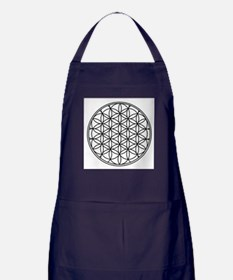 Flower of Life Apron (dark)
