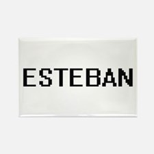 Esteban Digital Name Design Magnets