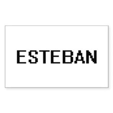 Esteban Digital Name Design Decal
