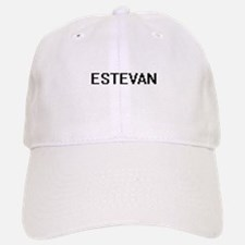 Estevan Digital Name Design Baseball Baseball Cap