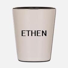 Ethen Digital Name Design Shot Glass