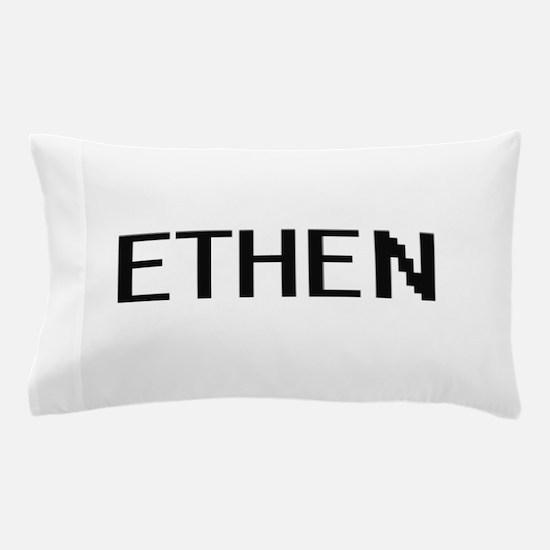Ethen Digital Name Design Pillow Case