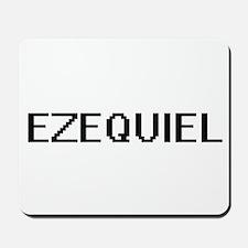 Ezequiel Digital Name Design Mousepad