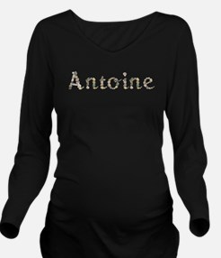 Antoine Seashells Long Sleeve Maternity T-Shirt