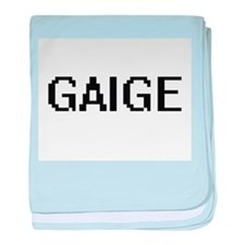 Gaige Digital Name Design baby blanket