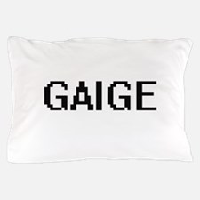 Gaige Digital Name Design Pillow Case
