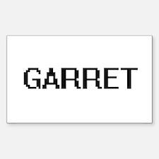 Garret Digital Name Design Decal