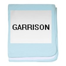 Garrison Digital Name Design baby blanket