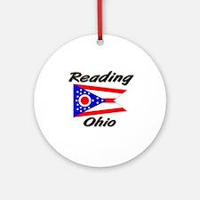 Reading Ohio Ornament (Round)