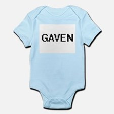 Gaven Digital Name Design Body Suit