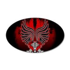 Dragon Gargoyle Tattoo Style Wall Decal