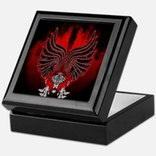 Dragon Gargoyle Tattoo Style Keepsake Box