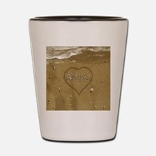 Angie Beach Love Shot Glass