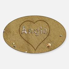 Angie Beach Love Decal