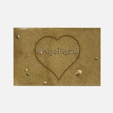Angelique Beach Love Rectangle Magnet