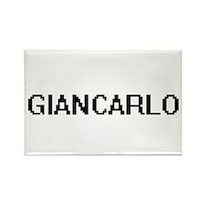 Giancarlo Digital Name Design Magnets