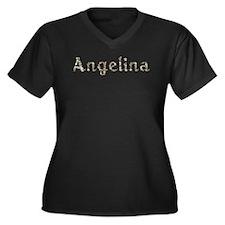 Angelina Seashells Plus Size T-Shirt