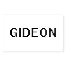 Gideon Digital Name Design Decal