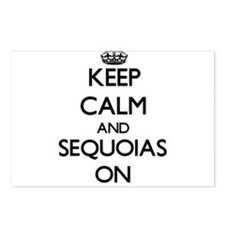Keep Calm and Sequoias ON Postcards (Package of 8)