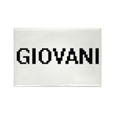 Giovani Digital Name Design Magnets