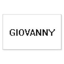 Giovanny Digital Name Design Decal
