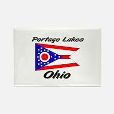 Portage Lakes Ohio Rectangle Magnet