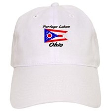 Portage Lakes Ohio Baseball Cap