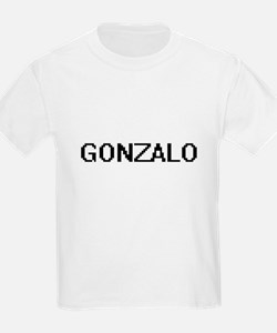 Gonzalo Digital Name Design T-Shirt