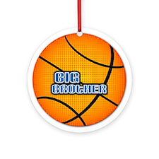 Big Brother Basketball Ornament (Round)