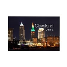 Cleveland Rectangle Magnet (10 pack)