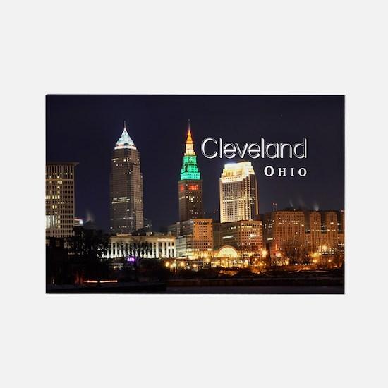 Cleveland Rectangle Magnet