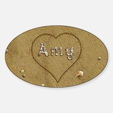 Amy Beach Love Sticker (Oval)