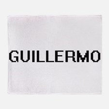Guillermo Digital Name Design Throw Blanket