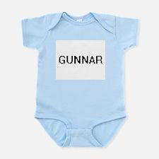 Gunnar Digital Name Design Body Suit