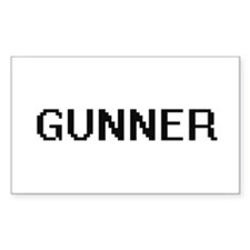 Gunner Digital Name Design Decal