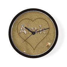 Amir Beach Love Wall Clock