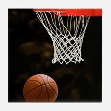 Basketball Ball Tile Coaster