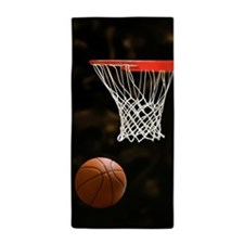 Basketball Ball Beach Towel
