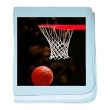 Basketball Ball baby blanket
