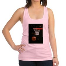 Basketball Ball Racerback Tank Top